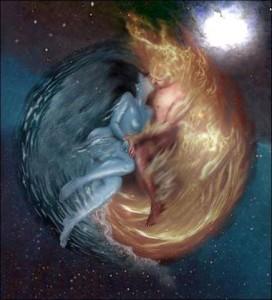 twin flames soul mates